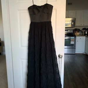 Adrianna Papell Black Evening Gown - Size 6